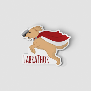 2-Inch Die-Cut Lab Labrathor Sticker