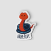 2-Inch Die-Cut Snake Nope Rope Sticker