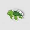 2-Inch Die-Cut Turtle Mobile Home Lizard Sticker
